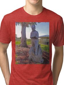 Ash Wednesday Memorial, Millicent, South Australia Tri-blend T-Shirt