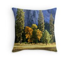 """Fall In Yosemite Valley"" Throw Pillow"