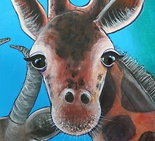 Giraffe - 'Jungle Animals'  by Selinah Bull