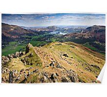 A View of Grasmere - Cumbria Poster