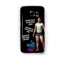 wicked little town shades of blue Samsung Galaxy Case/Skin