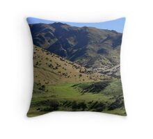 From High Country To Downlands Throw Pillow