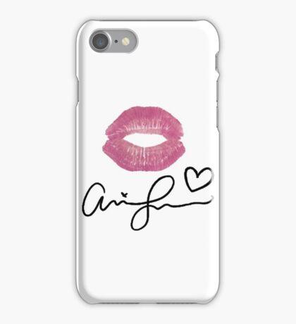 Ariana Grande Signature lips iPhone Case/Skin