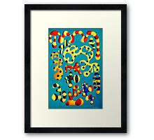 Genetic currency Framed Print