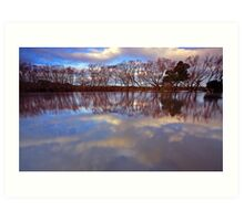 """Reflections at Evandale"" Art Print"