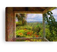 Jamaican Mountains Canvas Print