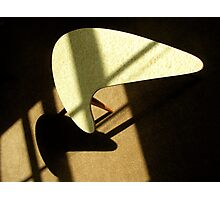 modernist shadow Photographic Print