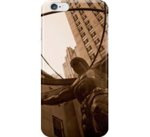 Weight of the World iPhone Case/Skin