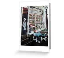 The Little Shop Keeper Greeting Card