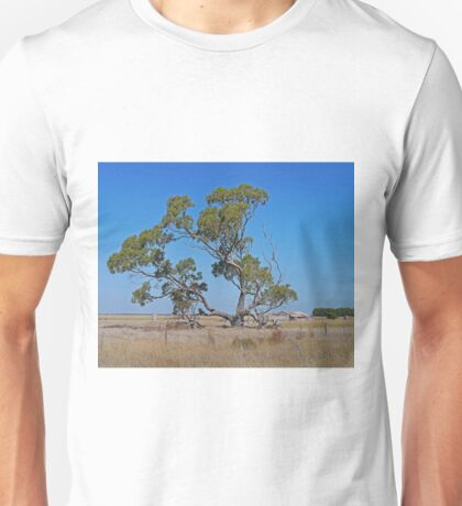 The Tree and the Barn, Cape Jaffa, South Australia Unisex T-Shirt