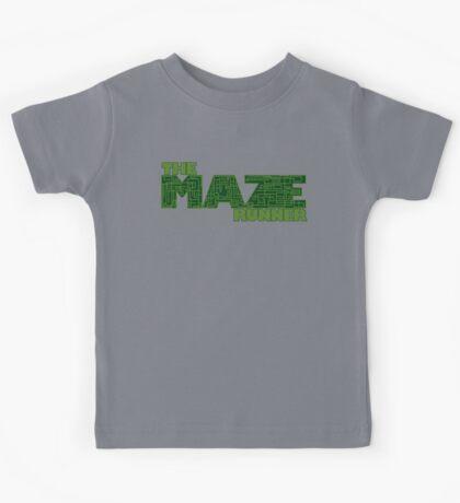 """The """"Mazed"""" Runner Kids Tee"""