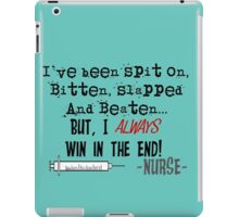 Hilarious Nurse Quote iPad Case/Skin