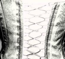 Back corset Sticker