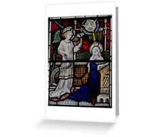 St Mary Stained Glass Window 0002 Greeting Card