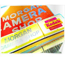 morgan camera shop, sunset blvd. Poster