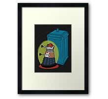 Daleks in Disguise - Eleventh Doctor Framed Print