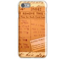 Antique Collage of Library Treasures iPhone Case/Skin