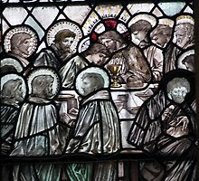 The Last Supper Stained Glass Window 0001 by mike1242