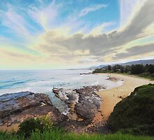 view from headland by alanball