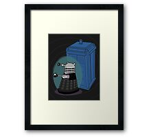 Daleks in Disguise - Ninth Doctor Framed Print