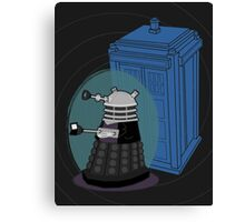 Daleks in Disguise - Ninth Doctor Canvas Print