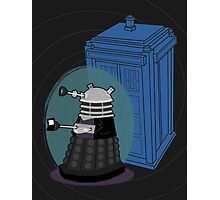 Daleks in Disguise - Ninth Doctor Photographic Print