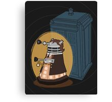 Daleks in Disguise - Eighth Doctor Canvas Print