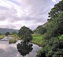 Lake District Reflection by mike1242