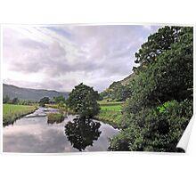 Lake District Reflection Poster