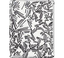 Crumpled Dashes iPad Case/Skin
