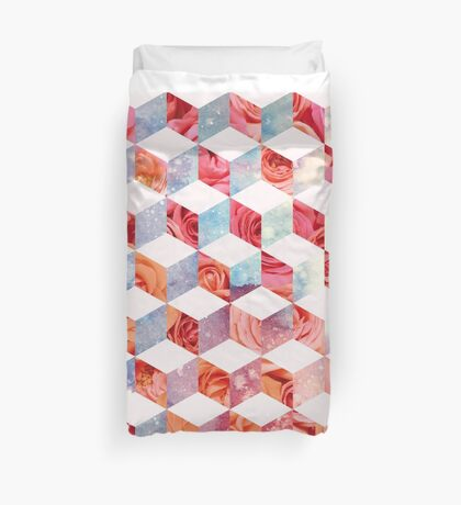Eve's Sweet Garden of Roses Duvet Cover