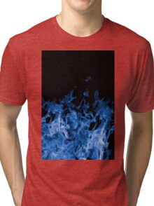 Blue Flame Tri-blend T-Shirt
