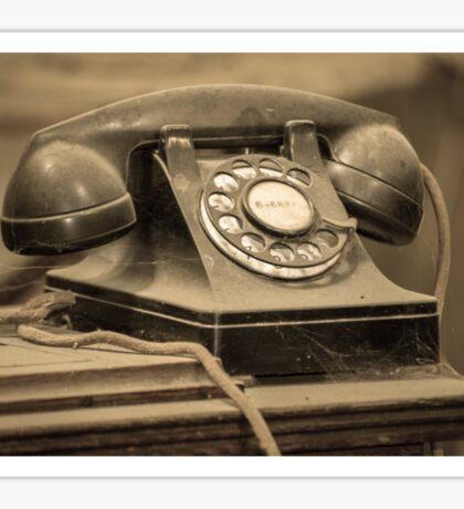 I Still Dial Sticker