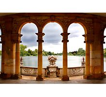 The view across the lake Photographic Print