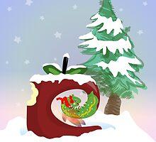 Fairy Worm of Manzania Christmas by elledeegee