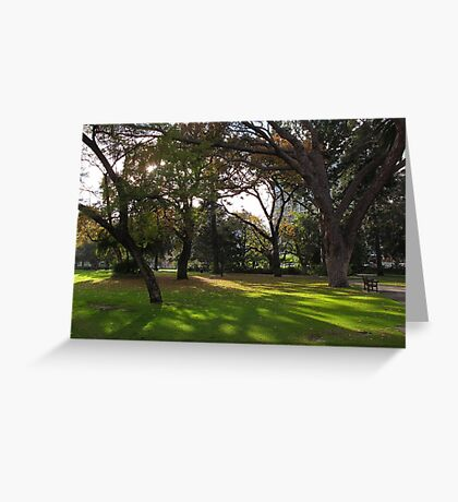 Inner City Parkland Greeting Card