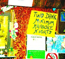 karaoke at the smog cutter by shannonybaloney