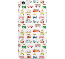 Bright Campervans iPhone Case/Skin