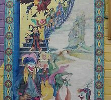 Opening of Scally Art - Mural by scallyart