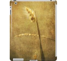 Sighing of Changes ... (Summer Grasses IV) iPad Case/Skin