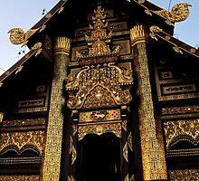 Buddhism Temple by ittikorns