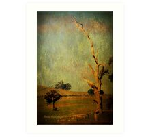 The dead tree ... Art Print