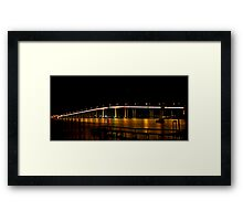 Tasman Bridge Framed Print