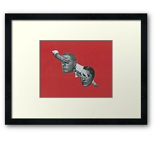 Like playing russian roulette Framed Print
