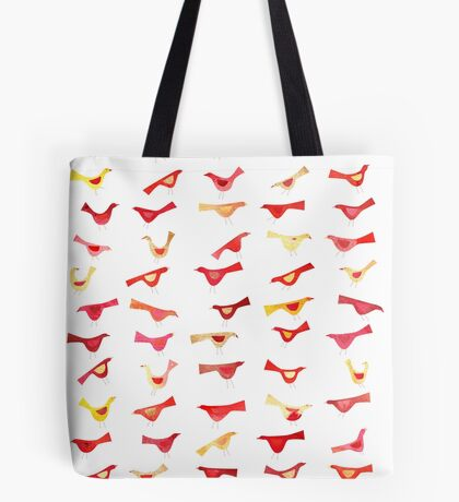 An Army of Undisciplined Birds Tote Bag