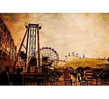 The Funfair 2 Photographic Print