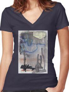 From Eden Women's Fitted V-Neck T-Shirt