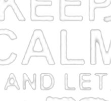 Keep Calm and Let Charles Handle It - T - Shirts & Hoodies  Sticker