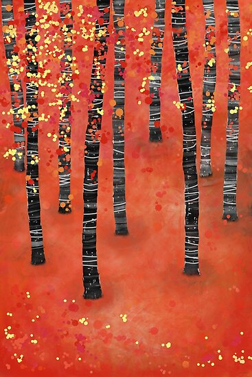 Birches by Nic Squirrell