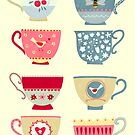 Tea Cups by Nic Squirrell
